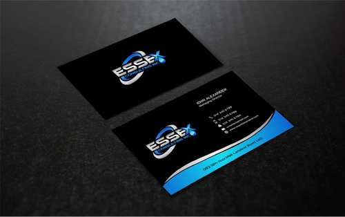 Essex Consulting Business Cards and Stationery  Draft # 292 by Dawson