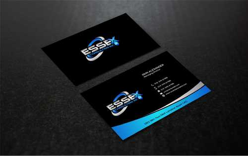Essex Consulting Business Cards and Stationery  Draft # 293 by Dawson
