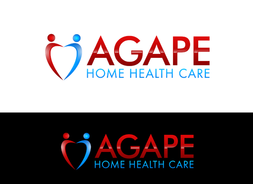 Agape Home Health Care  Logo Winning Design by jonsmth620