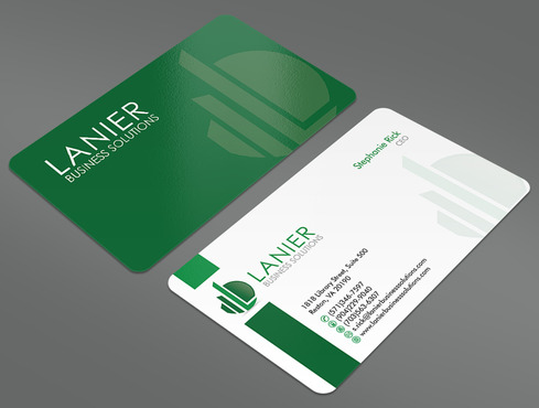 Lanier logo stationery Business Cards and Stationery  Draft # 34 by ArtworksKingdom