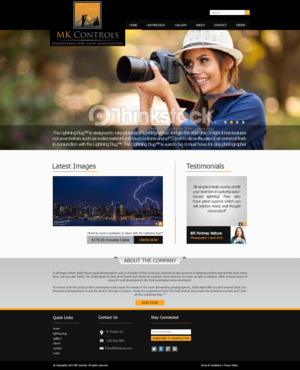 Update to our currnent site. Web Design  Draft # 46 by xclusivedesigns