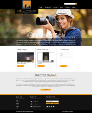 Update to our currnent site. Web Design  Draft # 47 by xclusivedesigns