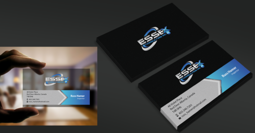 Essex Consulting Business Cards and Stationery  Draft # 338 by waterdropdesign