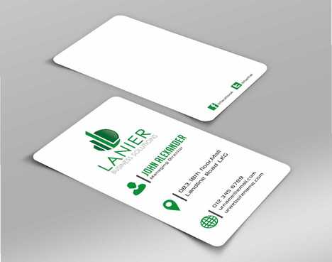 Lanier logo stationery Business Cards and Stationery  Draft # 174 by Dawson
