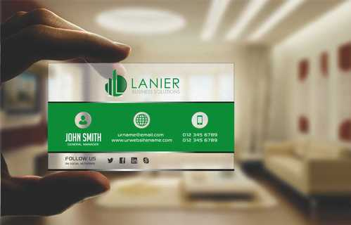 Lanier logo stationery