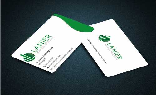 Lanier logo stationery Business Cards and Stationery  Draft # 222 by Dawson