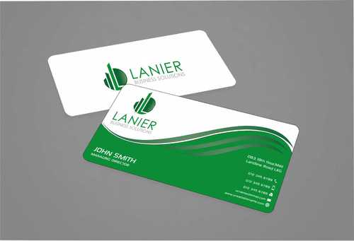 Lanier logo stationery Business Cards and Stationery  Draft # 227 by Dawson
