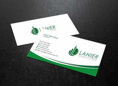 Lanier logo stationery Business Cards and Stationery  Draft # 229 by Dawson
