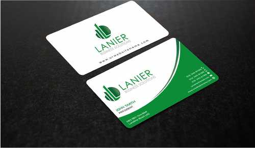 Lanier logo stationery Business Cards and Stationery  Draft # 231 by Dawson