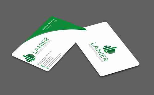 Lanier logo stationery Business Cards and Stationery  Draft # 232 by Dawson