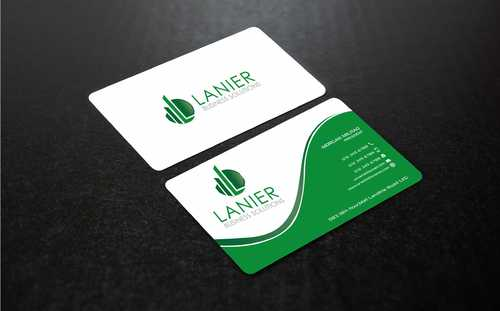 Lanier logo stationery Business Cards and Stationery  Draft # 238 by Dawson