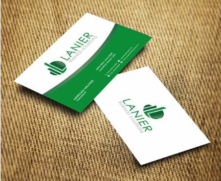 Lanier logo stationery Business Cards and Stationery  Draft # 239 by Dawson