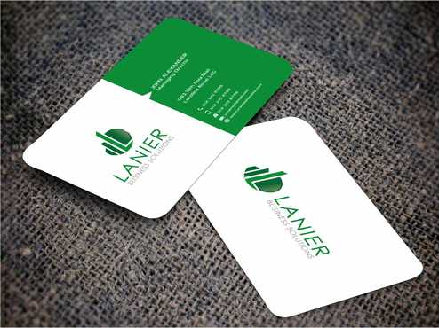 Lanier logo stationery Business Cards and Stationery  Draft # 241 by Dawson