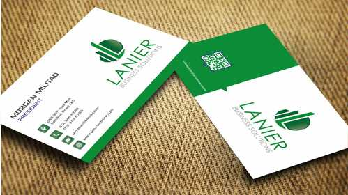 Lanier logo stationery Business Cards and Stationery  Draft # 243 by Dawson