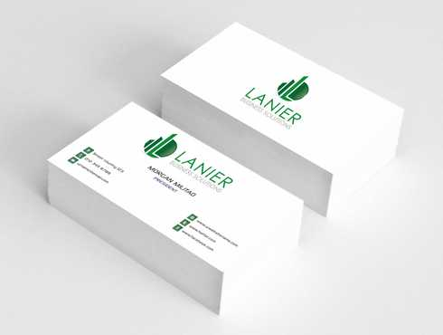 Lanier logo stationery Business Cards and Stationery  Draft # 245 by Dawson