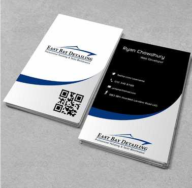 East bay detailing Business Cards and Stationery  Draft # 177 by Dawson