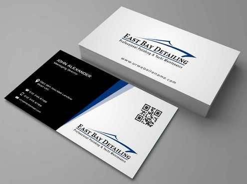 East bay detailing Business Cards and Stationery  Draft # 181 by Dawson