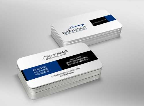 East bay detailing Business Cards and Stationery  Draft # 184 by Dawson