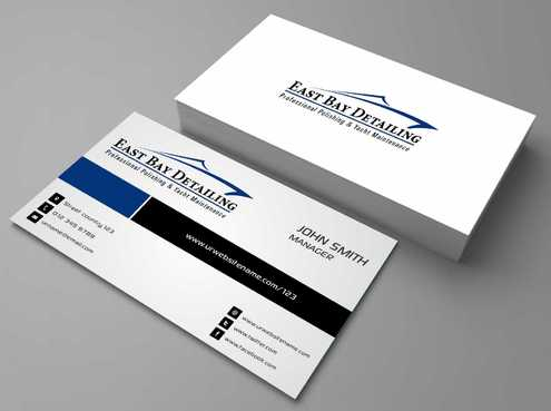 East bay detailing Business Cards and Stationery  Draft # 186 by Dawson