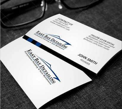East bay detailing Business Cards and Stationery  Draft # 188 by Dawson