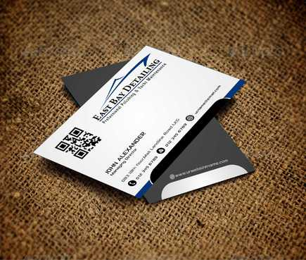 East bay detailing Business Cards and Stationery  Draft # 190 by Dawson