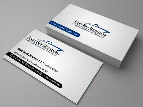 East bay detailing Business Cards and Stationery  Draft # 192 by Dawson
