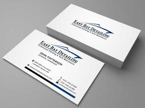 East bay detailing Business Cards and Stationery  Draft # 193 by Dawson