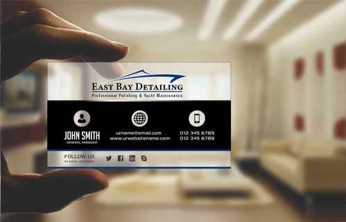 East bay detailing Business Cards and Stationery  Draft # 195 by Dawson