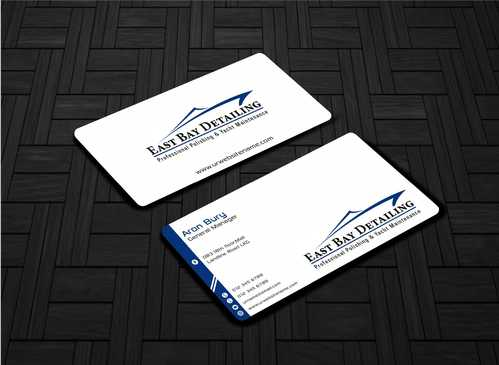 East bay detailing Business Cards and Stationery  Draft # 202 by Dawson