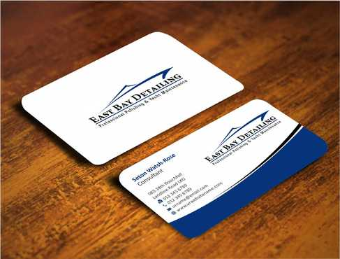 East bay detailing Business Cards and Stationery  Draft # 204 by Dawson