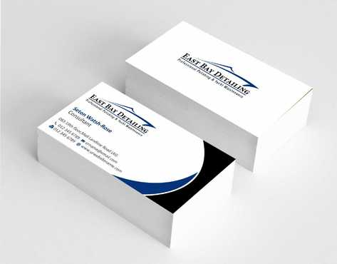 East bay detailing Business Cards and Stationery  Draft # 205 by Dawson