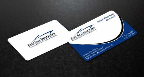 East bay detailing Business Cards and Stationery  Draft # 207 by Dawson