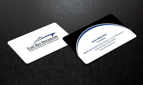 East bay detailing Business Cards and Stationery  Draft # 208 by Dawson