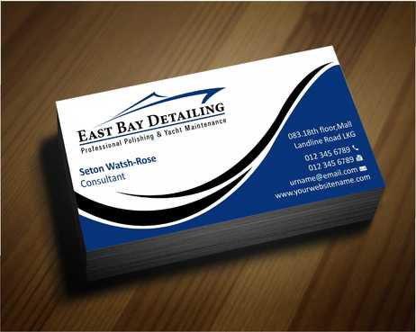 East bay detailing Business Cards and Stationery  Draft # 209 by Dawson