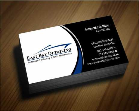 East bay detailing Business Cards and Stationery  Draft # 210 by Dawson