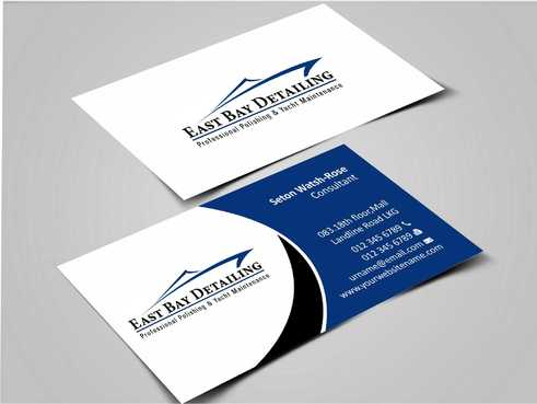 East bay detailing Business Cards and Stationery  Draft # 211 by Dawson