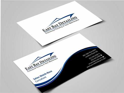 East bay detailing Business Cards and Stationery  Draft # 212 by Dawson