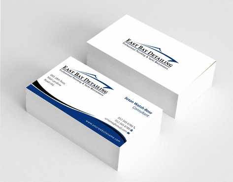 East bay detailing Business Cards and Stationery  Draft # 214 by Dawson