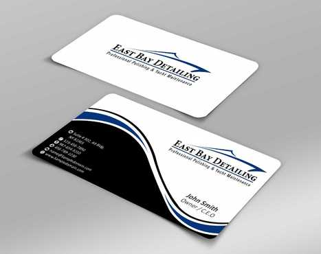 East bay detailing Business Cards and Stationery  Draft # 215 by Dawson
