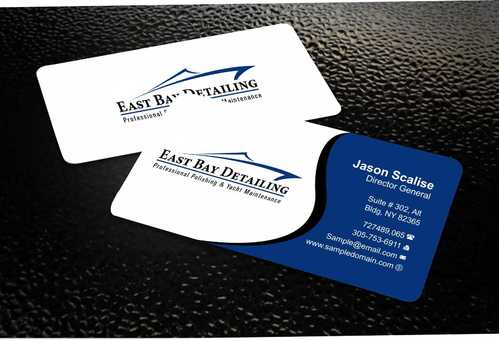 East bay detailing Business Cards and Stationery  Draft # 216 by Dawson