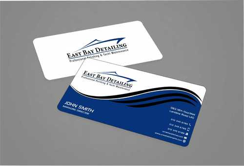 East bay detailing Business Cards and Stationery  Draft # 220 by Dawson
