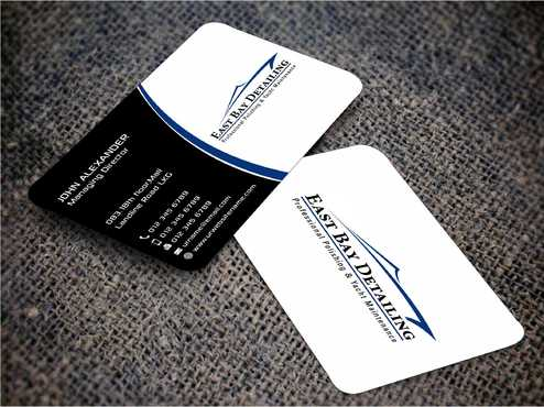East bay detailing Business Cards and Stationery  Draft # 219 by Dawson