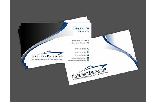 East bay detailing Business Cards and Stationery  Draft # 221 by Dawson