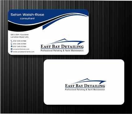 East bay detailing Business Cards and Stationery  Draft # 222 by Dawson
