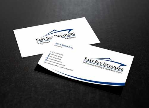 East bay detailing Business Cards and Stationery  Draft # 223 by Dawson