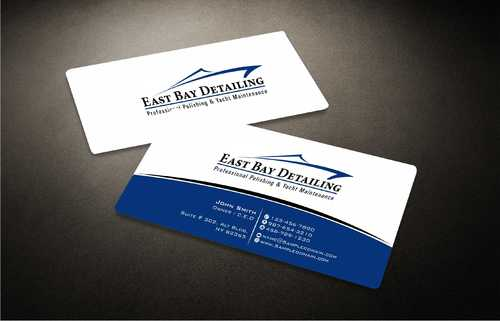East bay detailing Business Cards and Stationery  Draft # 224 by Dawson