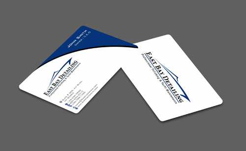 East bay detailing Business Cards and Stationery  Draft # 226 by Dawson