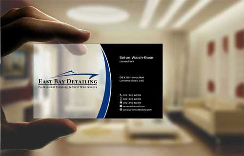 East bay detailing Business Cards and Stationery  Draft # 227 by Dawson