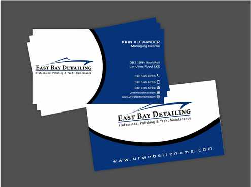 East bay detailing Business Cards and Stationery  Draft # 228 by Dawson
