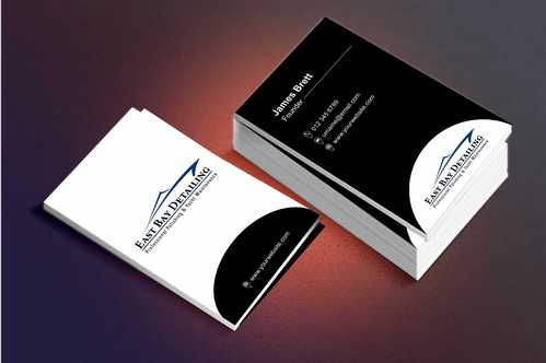 East bay detailing Business Cards and Stationery  Draft # 229 by Dawson